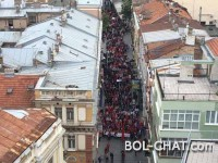 SARAJEVO: the march of anti-Fascism in the day of victory over fascism