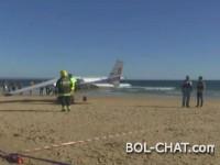Portugal / Avion prinudno sletio na plažu, poginuo muškarac i 8-godišnja djevojčica