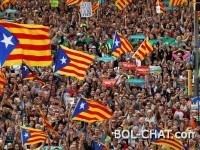 Blizu pola miliona ljudi na ulicama Barcelone