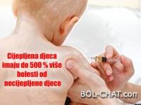 ŠOKANTNO: Cijepljena djeca imaju do 500 % više bolesti od necijepljene djece .
