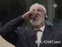 VIDEO  Trenutak kada je Praljak navodno popio otrov