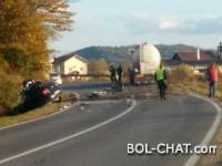 Saobraćajna nesreća kod Gračanice, smrtno stradala muška osoba