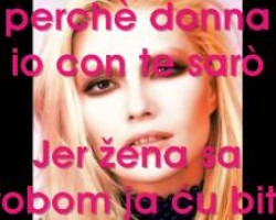 Anna Oxa - Donna con te (srpski prevod)