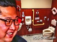 DRŽAVNA TAJNA: Kim 'donio' prenosivi WC u Singapur kako bi 'uskratio neprijateljima uvid u njegovu stolicu'