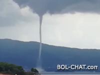 VIDEO: Pijavica divljala između Pelješca i Korčule