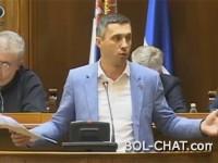 'VI STE JEDNA TOTALITARNA SEKTA' – srpski zastupnik u 10 minuta raskrinkao gay lobi i podigao milijune na noge! (VIDEO)