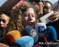 Ahed Tamimi and her mother were released from the Israeli jail