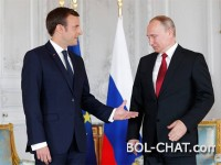 TRUMP DOES NOT BELIEVE: France has just signed deals for a direct investment of 1 billion euros in Russia.