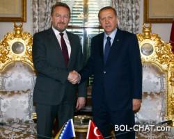 Izetbegović: Moj otac je ostavio BiH u amanet Erdoganu
