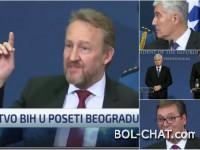 """""""Jedno bitno pojašnjenje"""" u Beogradu, Čovićevo """"to je to"""" i reakcije Bosanaca i Hercegovaca"""